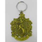 Metal Keychain - Harry Potter (Hufflepuff Crest)