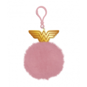 Pom Pom Keychain - Wonder Woman (WW)