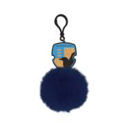Pom Pom Keychain - Harry Potter (Ravenclaw Shield)
