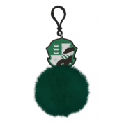Pom Pom Keychain - Harry Potter (Slytherin Shield)