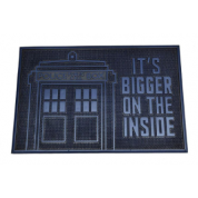 Rubber Mat - Dr Who (TARDIS)