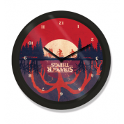 "10"" Clock - Stranger Things (Upside Down)"