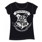 Harry Potter Girl Hogwarts Black T-Shirt