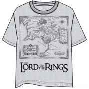 Lord of the Rings Map T-Shirt