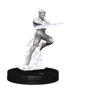 Marvel HeroClix Deep Cuts Unpainted Miniatures: Human Torch (4 Units) - EN