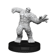 Marvel HeroClix Deep Cuts Unpainted Miniatures: The Thing (4 Units) - EN