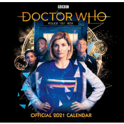 Danilo Calendar - Doctor Who - The 13th Doctor Square