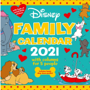Danilo Calendar - Disney Classics Family Organiser with Pocket