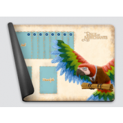 Dale of Merchants One Player Playmat - Scarlet Macaw