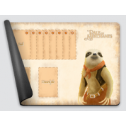 Dale of Merchants One Player Playmat - Pale-throated Sloth
