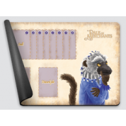Dale of Merchants One Player Playmat - White-headed Lemur