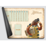 Dale of Merchants One Player Playmat - Wood Turtle