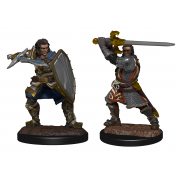 D&D Nolzur's Marvelous Miniatures: Human Paladin Male (6)