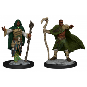 D&D Nolzur's Marvelous Miniatures: Human Druid Male (6)