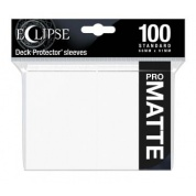 UP - Eclipse Matte Standard Sleeves: Arctic White (100 Sleeves)