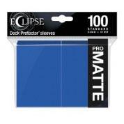 UP - Eclipse Matte Standard Sleeves: Pacific Blue (100 Sleeves)
