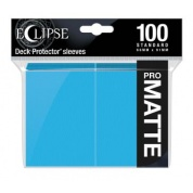 UP - Eclipse Matte Standard Sleeves: Sky Blue (100 Sleeves)