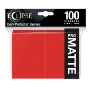 UP - Eclipse Matte Standard Sleeves: Apple Red (100 Sleeves)