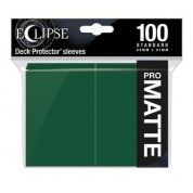 UP - Eclipse Matte Standard Sleeves: Forest Green (100 Sleeves)