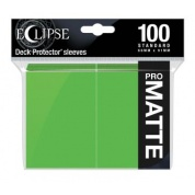 UP - Eclipse Matte Standard Sleeves: Lime Green (100 Sleeves)