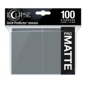 UP - Eclipse Matte Standard Sleeves: Smoke Grey (100 Sleeves)