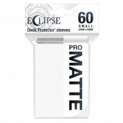 UP - Eclipse Matte Small Sleeves: Arctic White (60 Sleeves)