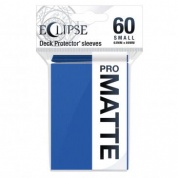 UP - Eclipse Matte Small Sleeves: Pacific Blue (60 Sleeves)
