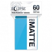 UP - Eclipse Matte Small Sleeves: Sky Blue (60 Sleeves)