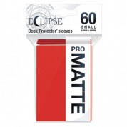 UP - Eclipse Matte Small Sleeves: Apple Red (60 Sleeves)