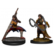 D&D Nolzur's Marvelous Miniatures: Human Monk Female (2 Units)