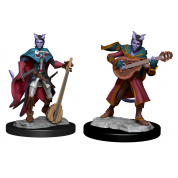 D&D Nolzur's Marvelous Miniatures: Tiefling Bard Female (6 Units)