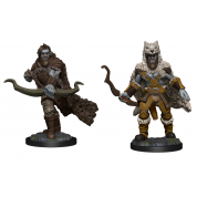 D&D Nolzur's Marvelous Miniatures: Firbolg Ranger Male (6 Units)