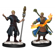 D&D Nolzur's Marvelous Miniatures: Half-Elf Wizard Male (6 Units)
