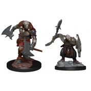 D&D Nolzur's Marvelous Miniatures: Warforged Barbarian (6 Units)