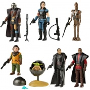 Hasbro Star Wars The Mandalorian The Retro Collection Action Figures Wave 1 Assortment (8)