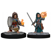Pathfinder Deepcuts: Halfling Cleric Female (6 Units)