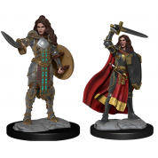 Pathfinder Deepcuts: Human Champion Female (2 Units)