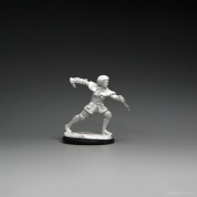 Magic the Gathering Unpainted Miniatures: Figure #3 (2 Units)