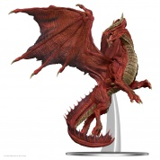 D&D Icons of the Realms: Adult Red Dragon Premium Figure - EN