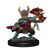 D&D Icons of the Realms Premium Figures: Halfling Fighter Female (6 Units) - EN