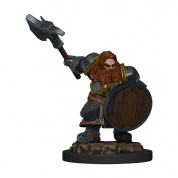 D&D Icons of the Realms Premium Figures: Dwarf Fighter Male (6 Units) - EN