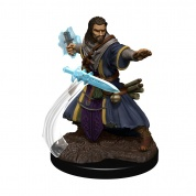 D&D Icons of the Realms Premium Figures: Human Wizard Male (6 Units) - EN
