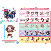 BanG Dream! Girls Band Party! ☆PICO Collectible Pins Vol. 1 Display (25 Packs)