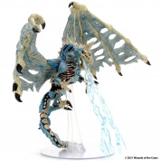 D&D Icons of the Realms Miniatures: Boneyard Premium Set - Blue Dracolich (Set 18) - EN