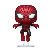 Funko POP! Marvel 80th - First Appearance Spider-Man (Metallic) Vinyl Figure 10cm