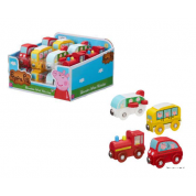 Peppa Pig Wooden Mini Buggies - Display (16)