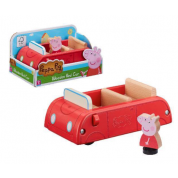 Peppa Pig Wooden Family Car With Peppa Figure