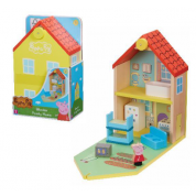 Peppa Pig Wooden Familiy Home (With Figures & Accessories)