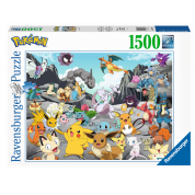 Ravensburger Puzzle - Pokémon Classics - 1500pc - DE/NL/SP/FR/IT/EN