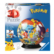 Ravensburger 3D Puzzle-Ball - Pokémon 72pc - DE/NL/SP/FR/IT/EN